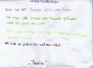 Briefe an die zukünftigen 5. Klässler